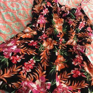 Xhilaration Dresses - Floral romper